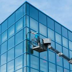 commercial window cleaning devon
